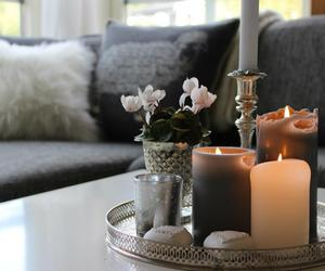 candles, home interior, and interior design image