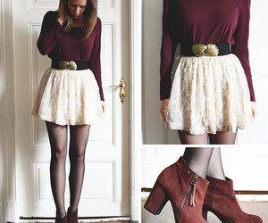 <3, autumn, and chic image