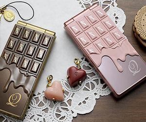 chocolate, phone, and sweet image