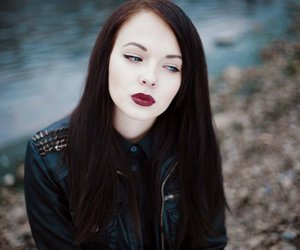alternative, dark lips, and grunge image