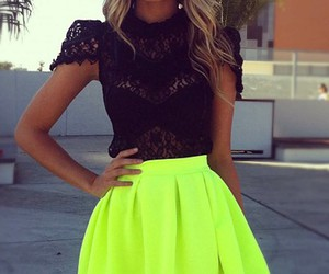 skirt, style, and summer image
