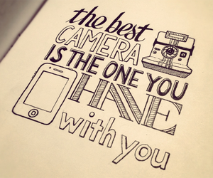 camera and quotes image