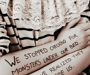 monster, quote, and text image