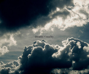 clouds, dreams, and reality image