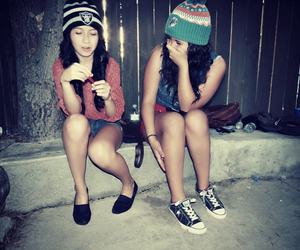 beanie, beauty, and girl image