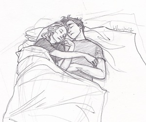 couple, percy jackson, and percabeth image