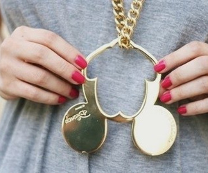 disney, mickey mouse, and necklace image