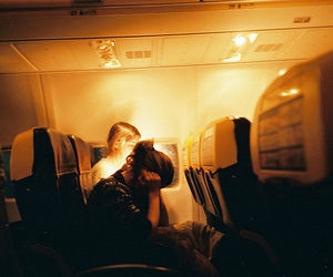 girl, photography, and airplane image