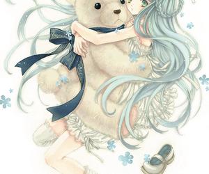anime, bear, and teddy bear image