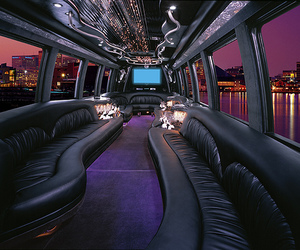 limo, luxury, and city image