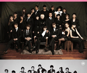 JYP, SM, and f(x) image