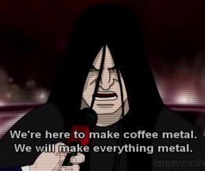 cartoon, metal, and metalocalypse image