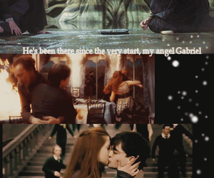 angel, chamber of secrets, and love image