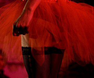 ballet, red, and tutu image