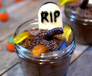 Halloween, cake, and candy image