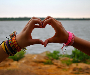 heart, hands, and photography image