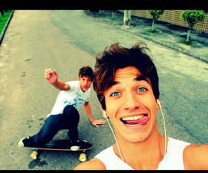 boy, Hot, and skate image