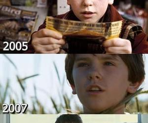 august rush, charlie and the chocolate factory, and freddie highmore image