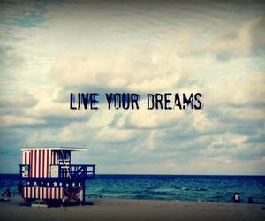 Dream, live, and cool image