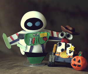 wall-e, toy story, and Halloween image