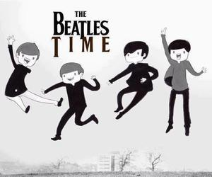 the beatles, beatles, and adventure time image