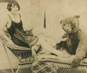antique, circus, and old image