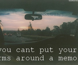 memories, quote, and car image