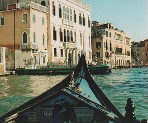 venice, photography, and boat image