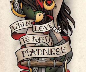 tattoo, gypsy, and love image
