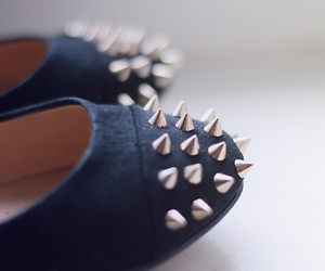 shoes, fashion, and spikes image