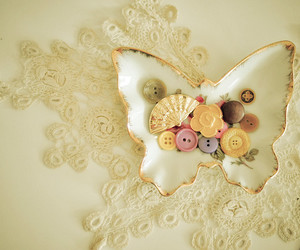 butterfly and buttons image