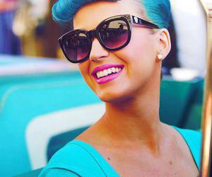 katy perry, smile, and blue image