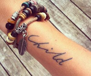 bracelet, nice, and tattoo image