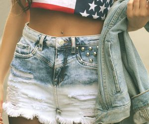 fashion, girl, and usa image