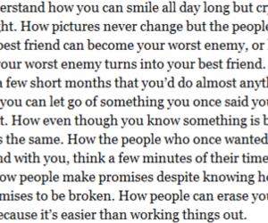 feelings, heartbroken, and hurt image
