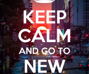 keep calm, new york, and city image