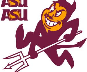 asu, sun devils, and sparky image