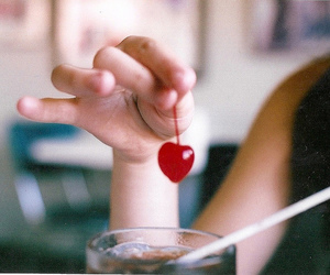 cherry, vintage, and girl image