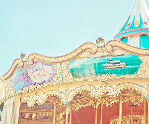 carousel, pretty, and photography image