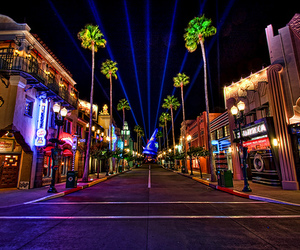 disney, lights, and night image