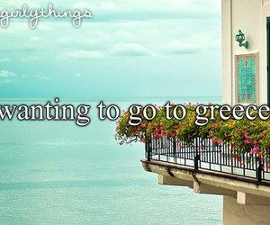 Greece, quotes, and only girly things image