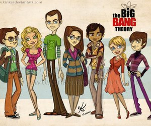 the big bang theory, penny, and big bang theory image