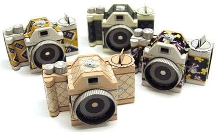cameras, custom paper camera, and diy image