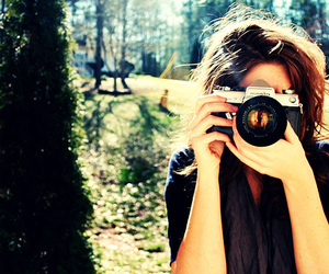 girl, camera, and photography image