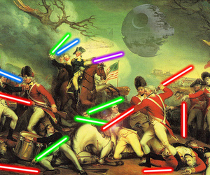 star wars, war, and funny image