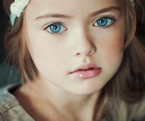 girl, eyes, and kids image