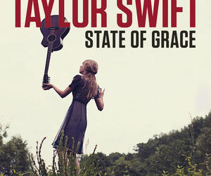Taylor Swift, state of grace, and red image