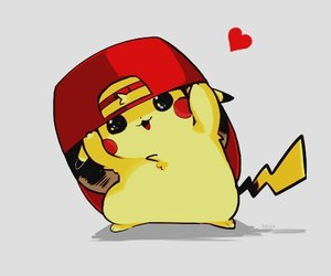 pikachu, pokemon, and anime image
