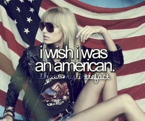 american, girl, and wish image