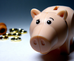 coins, pig, and toy story image